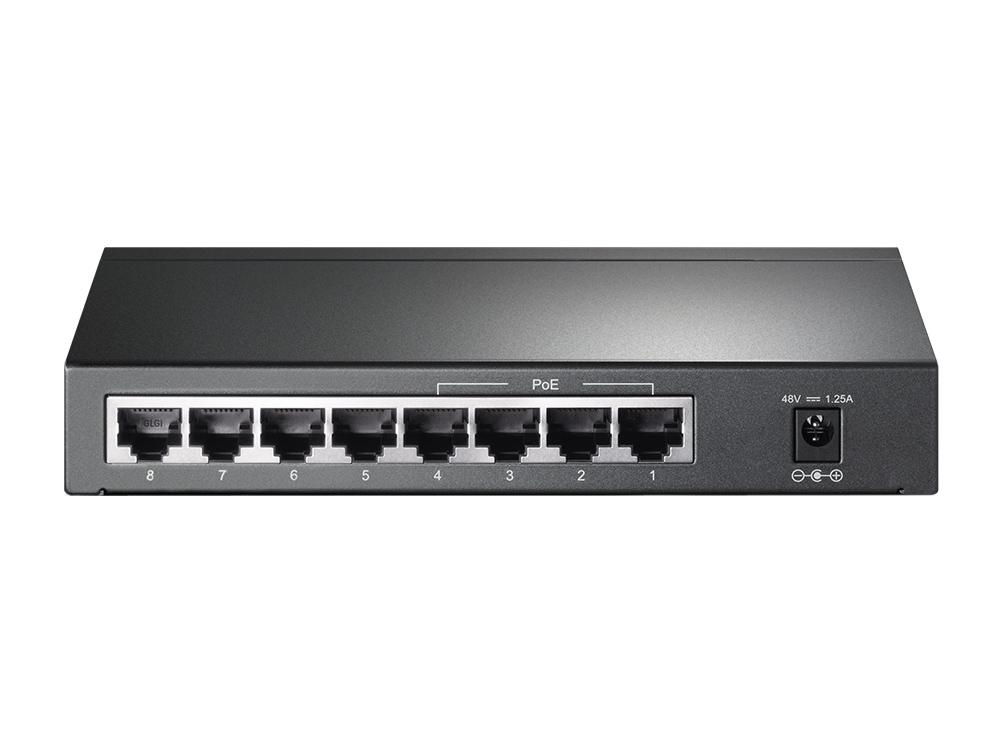 TP-LINK 8 Port Gigabit Desktop Switch with 4 Port PoE TL-SG1008P. loqtaa.com,